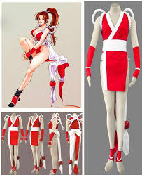 Street Fighter Halloween Costumes Kof Mai Shiranui Cosplay Clothing Clothes Custom Street Fighter