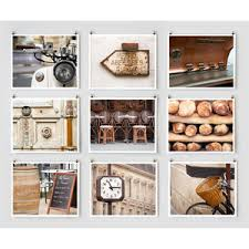 French Country Wall Art - paris photography collection brown paris décor rustic fr