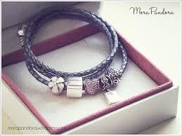 bracelet leather pandora images Pandora bracelet leather jpg
