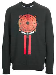 sweater target lyst givenchy target print sweater in gray for