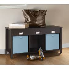 Home Decorators Storage Bench Engrossing Closetmaid Organizer Bench Roselawnlutheran