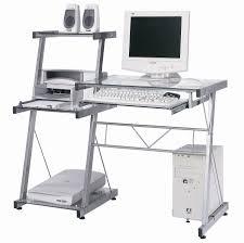 bureau ordinateur design bureau informatique design verre avec bureau ordinateur verre