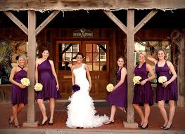 eggplant purple convertible bridesmaid dress