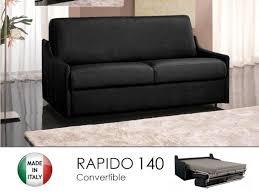 canap 140 cm canapé lit 3 places convertible ouverture rapido 140cm