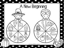 new beginning no prep thanksgiving beginning sounds spin