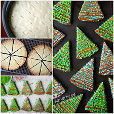 the busy baker these whipped shortbread holiday cookies