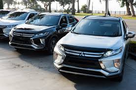 mitsubishi sports car 2018 2018 mitsubishi eclipse cross first drive review automobile magazine