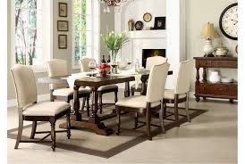 arlo 7 piece upholstered dining set living spaces