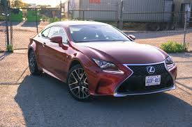 lexus rc f manual review 2016 lexus rc 300 awd canadian auto review
