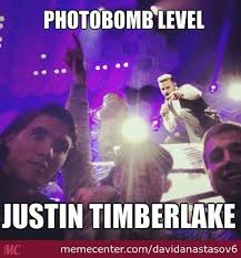Justin Timberlake Meme - photobomb level justin timberlake by recyclebin meme center