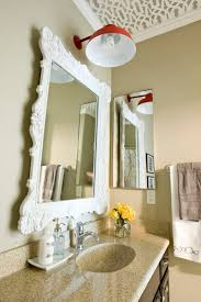 decorative bathroom mirror design idea 4 home ideas