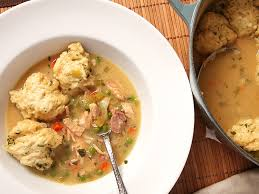 thanksgiving leftovers turkey n dumplings works with chicken