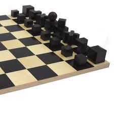 top3 by design naef bauhaus chess set board