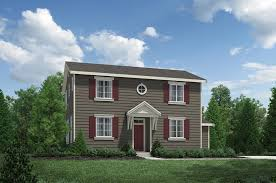 Impressive Design 7 Colonial Farmhouse Timber Creek The Courtyards The Snowberry Home Design
