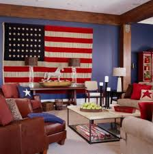 flag decorations for home americana style home decorating ideas us flag