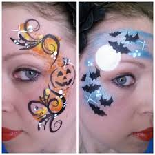 Bat Face Makeup Halloween by Halloween Face Painting Great For Kids U0027 Parties Find Supplies