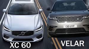 range rover velar dashboard 2018 volvo xc60 vs range rover velar interior and drive