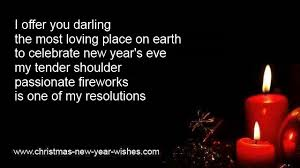 new year wishes with tender loving messages