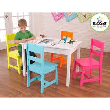 walmart table and chairs set kidkraft highlighter table and chairs set kids teen rooms