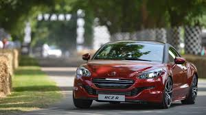 peugeot rcz usa on board video with peugeot rcz r at goodwood fos