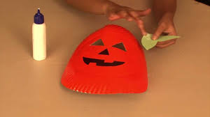 how to make a pumpkin mask arts and crafts youtube