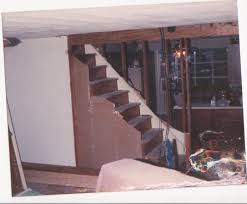 How To Enclose Basement Stairs Converting Closed Stairs To Open Stairs Home Improvement Stack