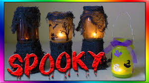 diy haunted halloween lanterns youtube