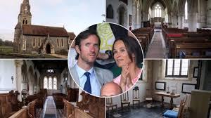 St Mark S Church Berkshire Pippa Middleton U0027s Wedding Inside St Mark U0027s Church In Englefield