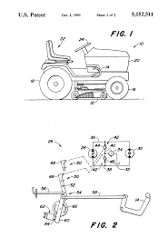 patent us5052511 automatic return mechanism for hydrostatic