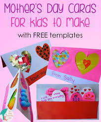 s day cards for school s day cards for kids to make motor skills cards and