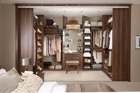 fabulous women walk in closet design white finish closet wall set