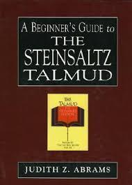 steinsaltz talmud a beginner s guide to the steinsaltz talmud by judith z abrams