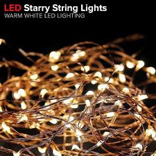 Starry String Lights Amber Lights On Copper Wire by Gorgeous String Lights Copper Wire Starry String Light Soothing