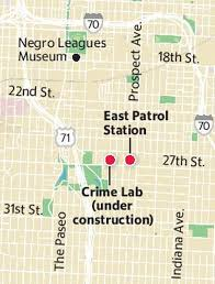 Kansas City Crime Map After Years Of Planning New East Patrol Police Station Opens