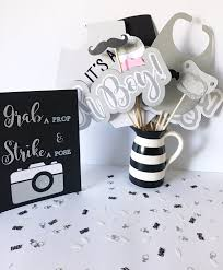Mustache Home Decor by 79 Wonderful Gray And Black Party Decor Home Design White