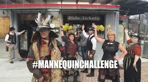 mannequin challenge steampunk style youtube