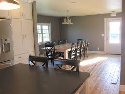 sherwin williams dovetail grey kitchen and dining room for the