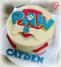 loving creations paw patrol chiffon cake