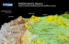 Riviera Maya Map Coral Protection From Space On The Mexican Riviera Maya