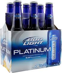how much is a six pack of bud light bud light platinum 6 pack the wine specialist
