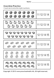 math counting worksheet best 25 math worksheets for kindergarten ideas on