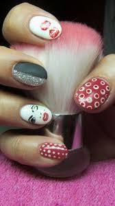 white pink and gold nails nail art gallery nail art ideas
