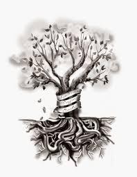 veggiemuse tattoos custom family tree design