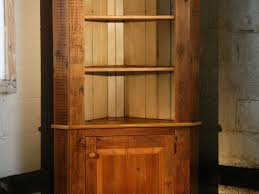 Corner Hutch Cabinet Custom Corner Cabinet With Open Top By Ecustomfinishes Reclaimed