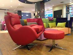 Designer Swivel Chair - our very popular compact comfy swivel chair with optional