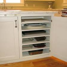 plate organizer for cabinet plate storage cabinet great idea for baking pan casserole dish