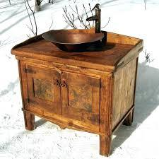 Rustic Bathroom Cabinets Rustic Bath Vanity Cabinet Rustic Bathroom Cabinets Vanities