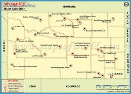 Wyoming natural attractions images Wyoming map tourist attractions travel map vacations jpg
