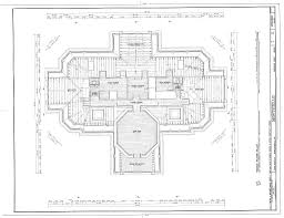 monticello top floor architectural floor plans pinterest