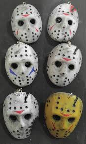 Jason Mask Jason Voorhees Hockey Mask Keychain